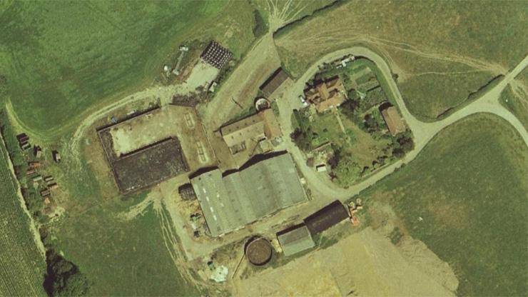 Park Farm Aerial View